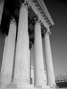Supreme Court of the United States Colonnade by Carol Highsmith