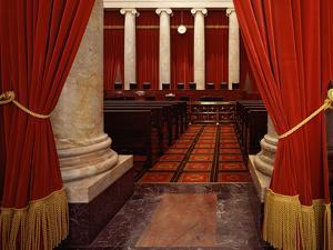 Supreme Court of the United States Interior by Carol Highsmith