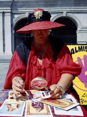 Tarot Card Reader by Carol Highsmith