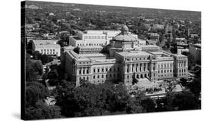 Thomas Jefferson Building from the U.S. Capitol dome, Washington, D.C. - B&W by Carol Highsmith