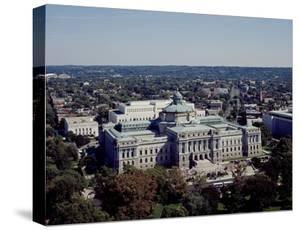 Thomas Jefferson Building from the U.S. Capitol dome, Washington, D.C. by Carol Highsmith
