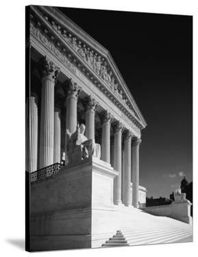 U.S. Supreme Court building, Washington, D.C. - B&W by Carol Highsmith