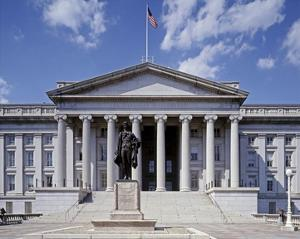 U.S. Treasury building, Washington, D.C. by Carol Highsmith