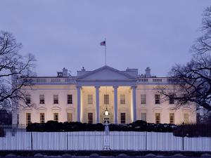 White House Presidential Mansion by Carol Highsmith