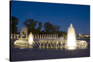 World War II Memorial Nigh), Washington, D.C. by Carol Highsmith