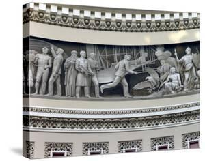 Wright Brothers frieze in U.S. Capitol dome, Washington, D.C. by Carol Highsmith