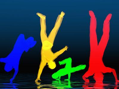 Breakdancers by Carol & Mike Werner