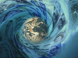 Earth Caught Up in Wave of International Currency by Carol & Mike Werner