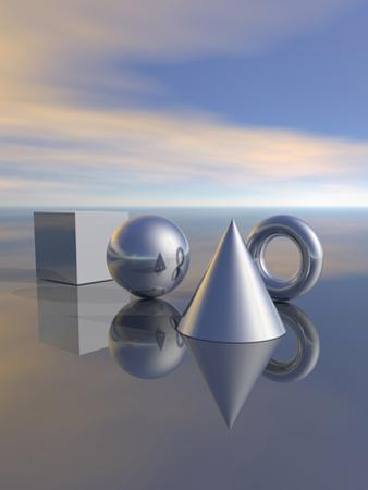 Geometric Solids by Carol & Mike Werner