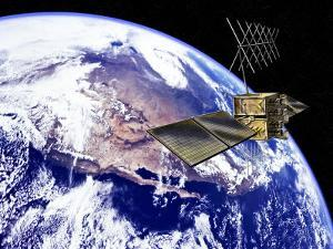 Global Positioning Satellite by Carol & Mike Werner