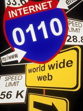 Information Superhighway by Carol & Mike Werner