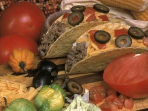 Ingredients For a Mexican Taco by Carol & Mike Werner