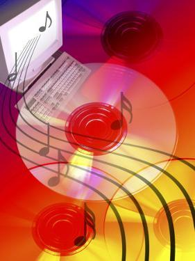 Music Coming Out from MP3 System by Carol & Mike Werner