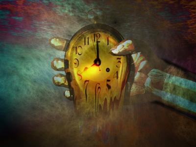 Tick , . . Tock . . . Tick . . . Tock . . . Concept of Time Running Out by Carol & Mike Werner