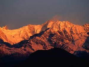 Annapurna Range, Nepal by Carol Polich