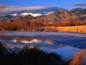 Bridger Mountains Near Bozeman, Bozeman, USA by Carol Polich
