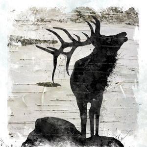 Birchbark Elk by Carol Robinson