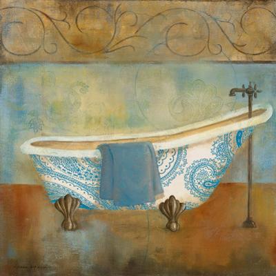 Paisley Bath I by Carol Robinson