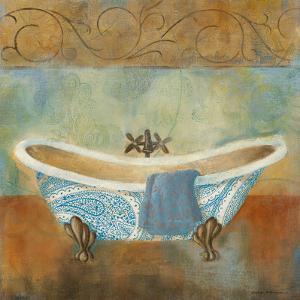 Paisley Bath II by Carol Robinson