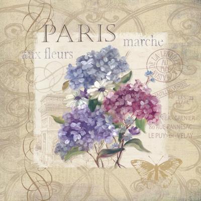 Paris Flower Market by Carol Robinson