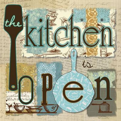 The Kitchen is Open by Carol Robinson
