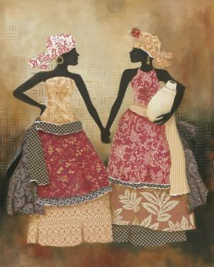Village Women I by Carol Robinson
