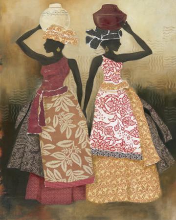 Village Women II by Carol Robinson