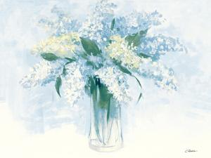 Contemporary Lilac Blue by Carol Rowan
