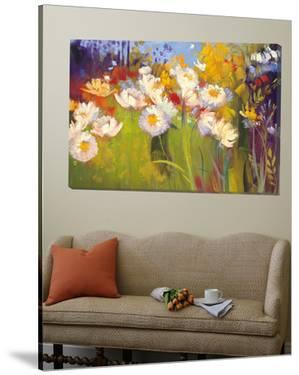 Contemporary Meadow by Carol Rowan