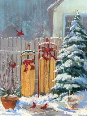 December Sleds by Carol Rowan