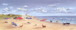 Beach Tails by Carol Saxe
