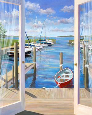 Marina Deck by Carol Saxe