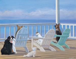 Porch Tails by Carol Saxe