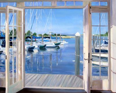 Reflections, Marina Mill Creek by Carol Saxe