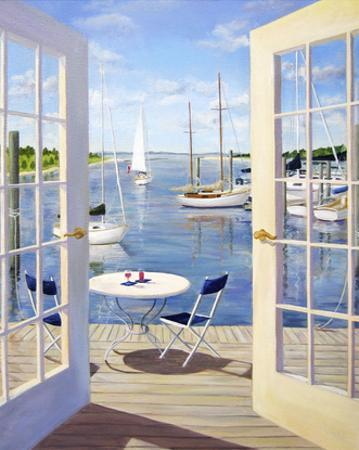 Table on the Harbor by Carol Saxe