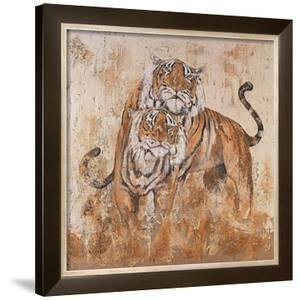 Les Tigres II by Carole Ivoy