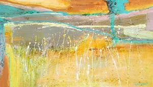 Summer fields by Carole Malcolm