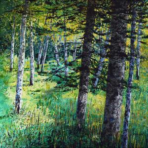 Treescape 10 by Carole Malcolm