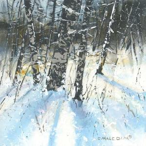Treescape 1 by Carole Malcolm