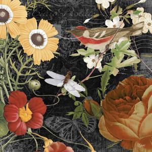 Vintage Floral 4 by Carole Stevens