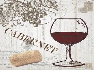 Vintage Wine 2 by Carole Stevens