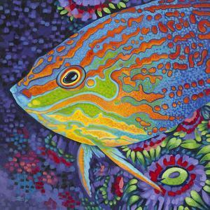 Brilliant Tropical Fish I by Carolee Vitaletti