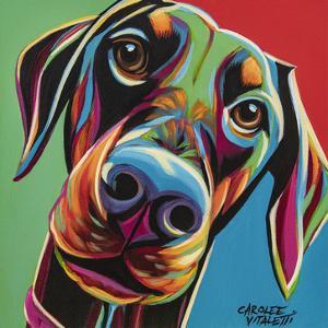 Chroma Dogs I by Carolee Vitaletti