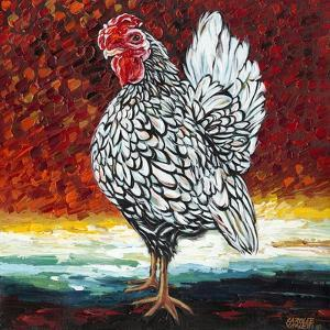 Fancy Chicken II by Carolee Vitaletti