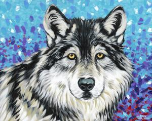 Grey Wolf II by Carolee Vitaletti