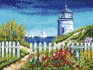 Lighthouse Retreat I by Carolee Vitaletti