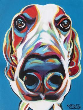 Nosey Dog I by Carolee Vitaletti