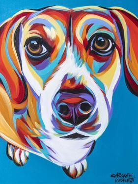 Nosey Dog II by Carolee Vitaletti