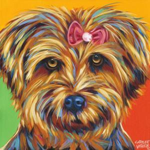 Sweet Yorkie I by Carolee Vitaletti