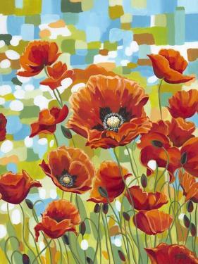 Vivid Poppies I by Carolee Vitaletti